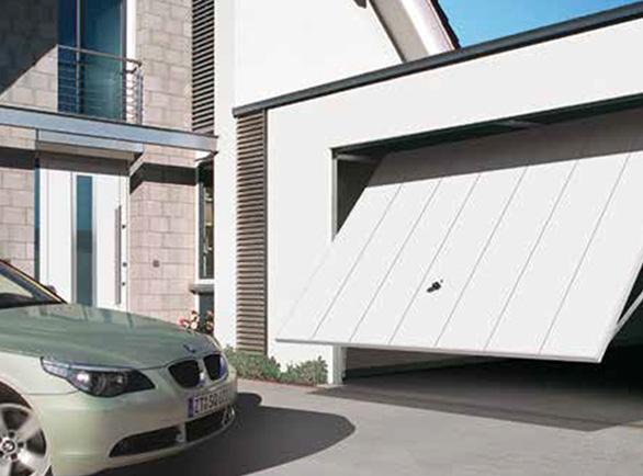Bramy garażowe uchylne