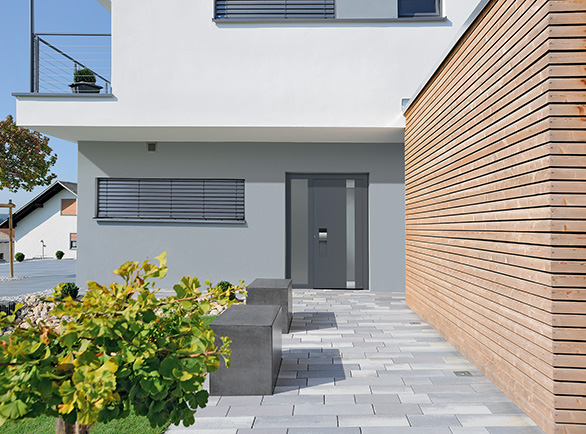 Aluminiowe drzwi Hörmann ThermoCarbon