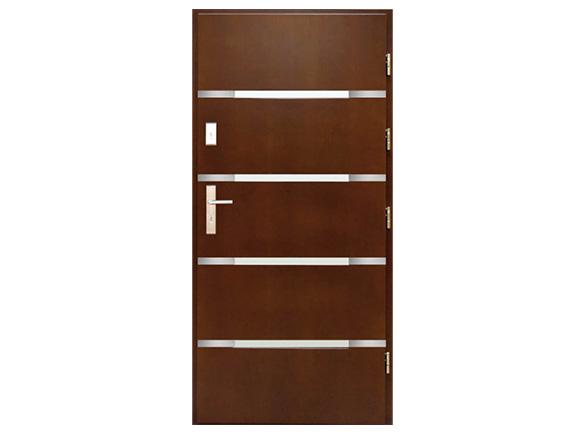 Drzwi Derpal (drewniane płytowe)