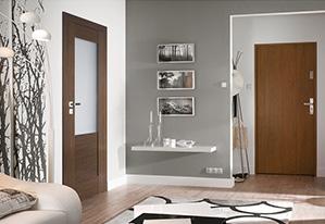Drzwi w naturalnej okleinie