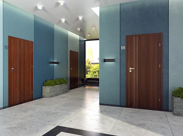 Drzwi wewnętrzne wejściowe ERKADO HERSE