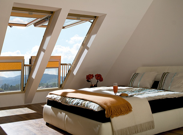Okna dachowe-balkonowe Fakro