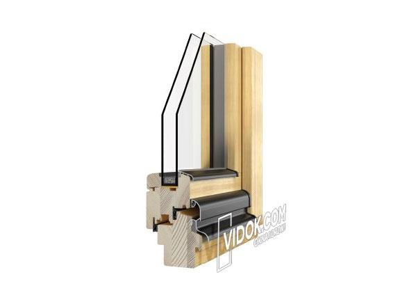 Okna drewniane System VD-68, VD-78, VD-92