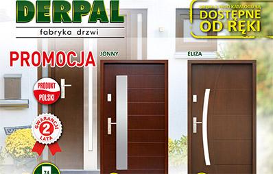 Promocja drzwi zewnętrznych Derpal