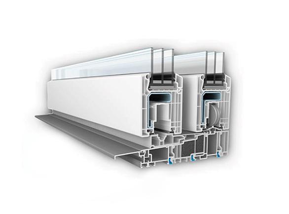 Witraż system Veka HS V82